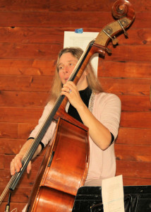 Gen Rose on double bass
