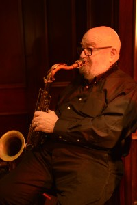 Ted Casher on tenor sax