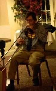 John with soaring trombone
