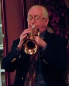 Phil on trumpet
