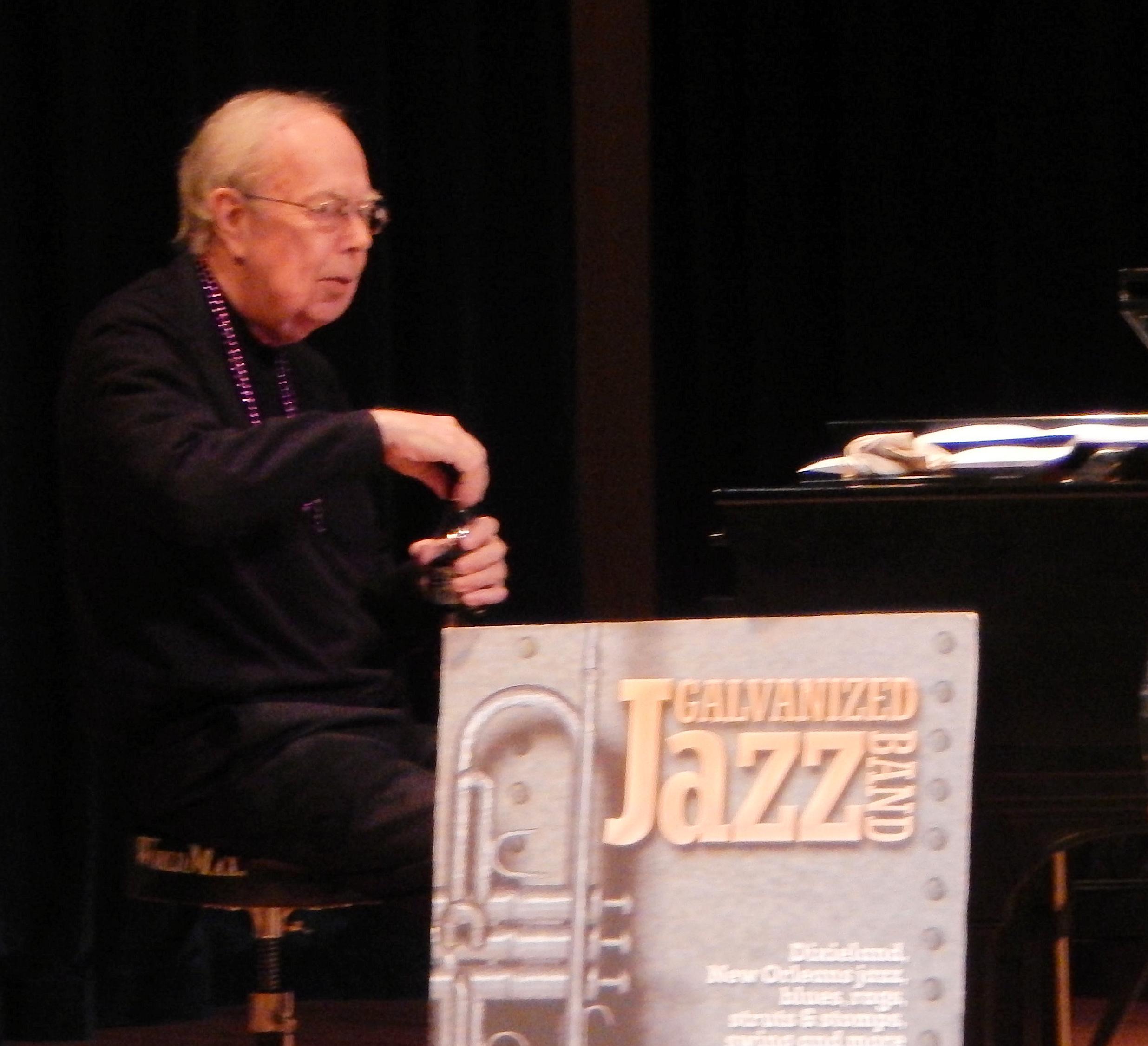 Bill Sinclair on piano