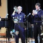 7 pc Trad Jazz Band, no banjo, 2 cornets