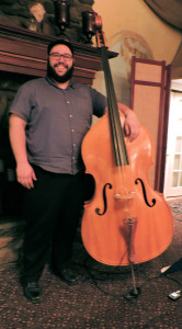 Greg Toro on double bass