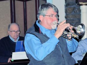 Neil on fantastic open bell cornet