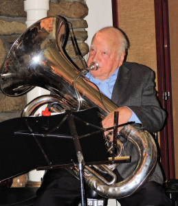 Pierre on large tuba