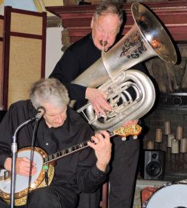 banjo and tuba