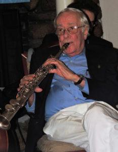 Stan on sop sax