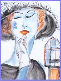 """Anita O""""Day in hat"""