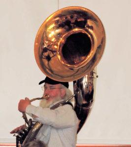 Al on Sousaphone