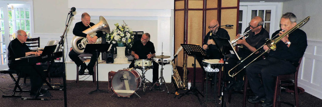 6 pc swing band, no banjo