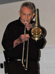 Herb on trombone