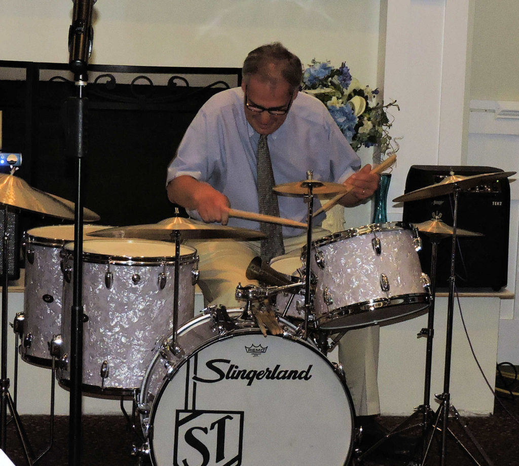 On Slingerland Drums
