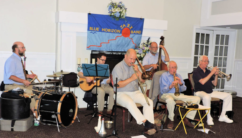 7 pc trad jazz band