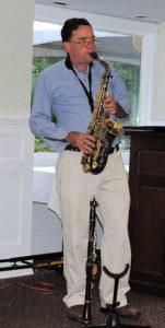 John on alto sax