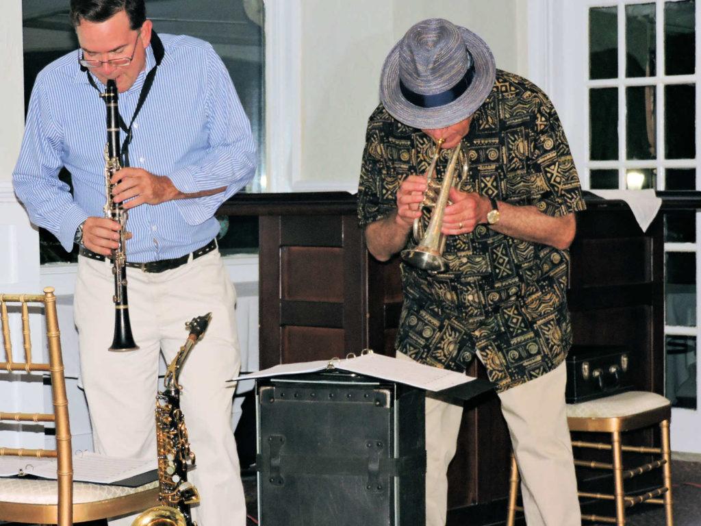 clarinet and cornet bent forward reading charts