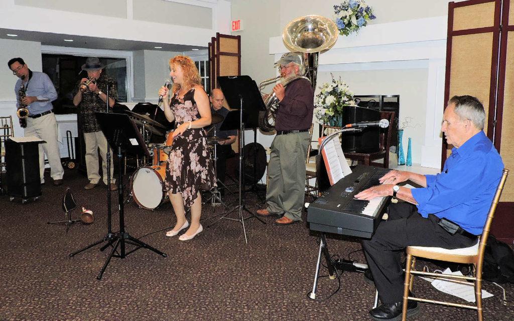 6 pc Jazz Band - no trombone or guitar