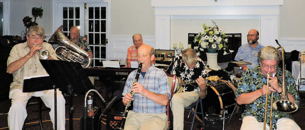 7 piece Trad Jazz Band