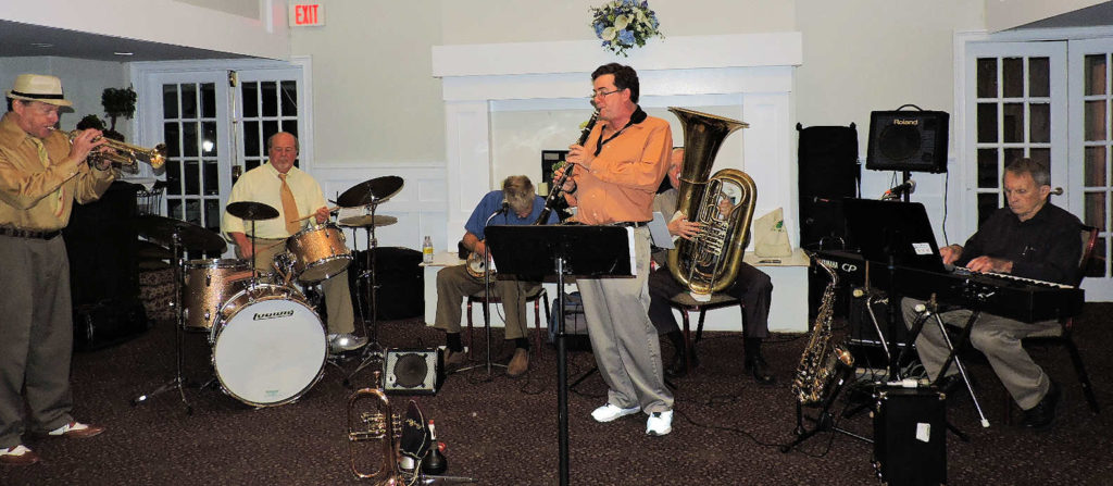 6 piece Trad Jazz Band no trombone
