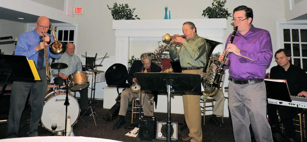 7 pc. trad Jazz Band