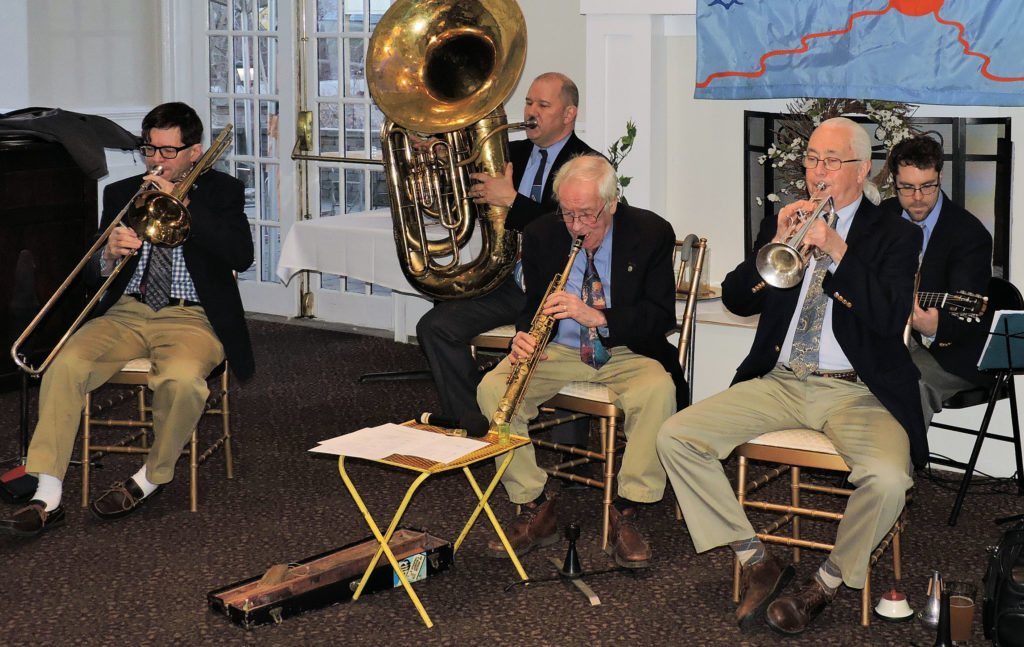 5 pc. Traditional Jazz Band, no banjo