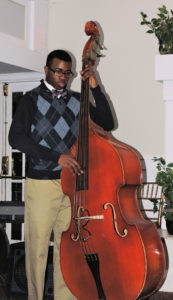 19 yr old African-American on double bass