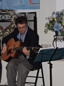 Jack on 'Django' guitar